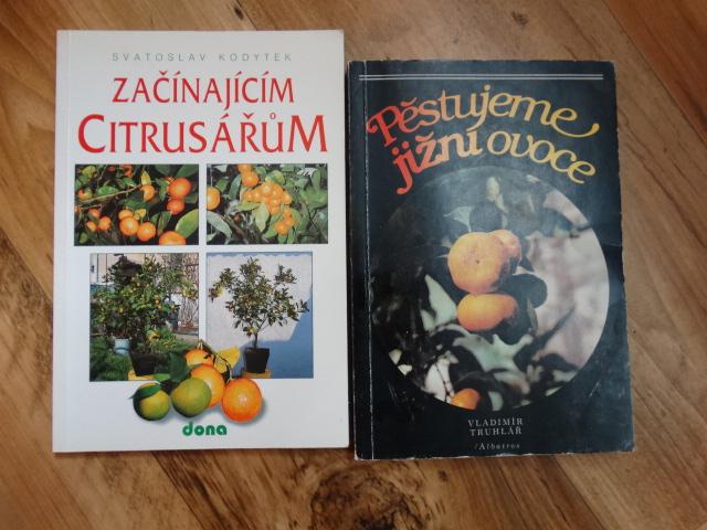 knihy o citrusech